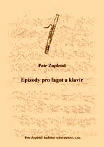 Title - Zapletal Petr (*1965) - Episodes for basson and piano