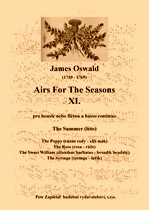 Title - Oswald James (1710 - 1769) - Airs For The Seasons X. - The Summer