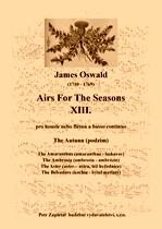 Title - Oswald James (1710 - 1769) - Airs For The Seasons XIII. - The Autunn