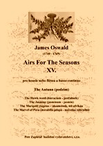 Title - Oswald James (1710 - 1769) - Airs For The Seasons XV. - The Autunn