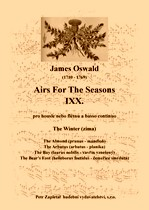 Title - Oswald James (1710 - 1769) - Airs For The Seasons IXX. - The Winter