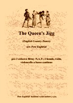 Náhled titulu - Zapletal Petr (*1965) - The Queen´s Jigg (English Country Dance) - arrangement
