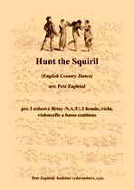 Náhled titulu - Zapletal Petr (*1965) - Hunt the Squiril (English Country Dance) - arrangement