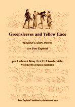 Náhled titulu - Zapletal Petr (*1965) - Greensleeves and Yellow Lace (English Country Dance) - arrangement