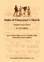 Title - Zapletal Petr (*1965) - Duke of Gloucester´s March (English Country Dance) - arrangement