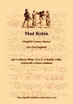 Title - Zapletal Petr (*1965) - Mad Robin (English Country Dance) - arrangement