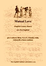 Title - Zapletal Petr (*1965) - Mutual Love (English Country Dance) - arrangement
