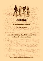 Title - Zapletal Petr (*1965) - Jamaica (English Country Dance) - arrangement
