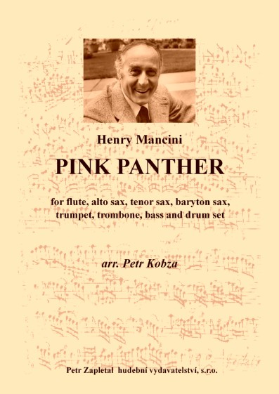 441] Kobza Petr (*1948) - Pink Panther (Henry Mancini) - 10 4 EUR